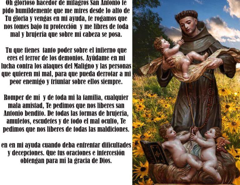 Oracion a san Antonio de Padua para romper ataduras